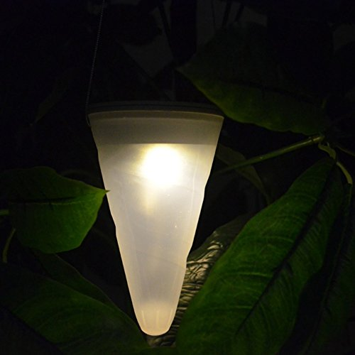 Demiawaking Wasserdichte hängende Laterne Schnur im Freien Garten Yard Pathway Light Lamp (Warm - Hängenden Freien Im Laternen