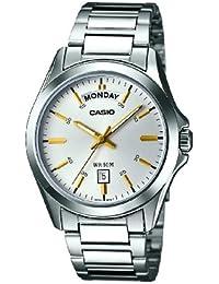 Casio Herren-Armbanduhr Classic collection Analog Quarz Edelstahl MTP-1370PD-7A2VEF