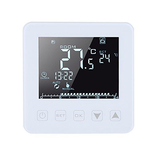 16A thermostat programmable digital écran LCD Chauffage électrique Thermostat contrôleur de température ambiante