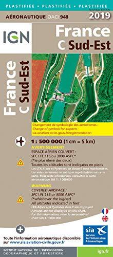 France Sud-Est pelliculée : 1/500 000