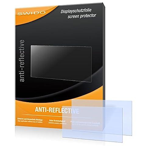 SWIDO X061152 anti-reflektierende hartbeschichtet Displayschutzfolie für Falk Neo 550 2nd Edition (2-er Pack)