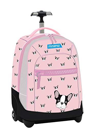 1c4cf1abc6 Zaino Trolley Run Mitama Girl Super Compatto+Cinema Omaggio Pink Dog