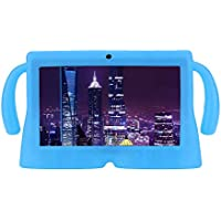 Liqiqi Case For Android Tablet Q88 7 Inch Kids Silicone Gel Protective Back Case Cover Shock proof (Blue)