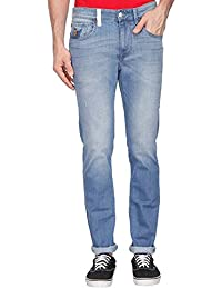 U.s. Polo Assn. Denim Mens Skinny Fit Heavy Wash Jeans (regallo Fit)