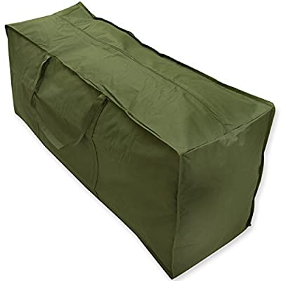Oxbridge Waterproof Garden Furniture Cushion Carry Case/Storage Bag Heavy Duty - inexpensive UK light shop.