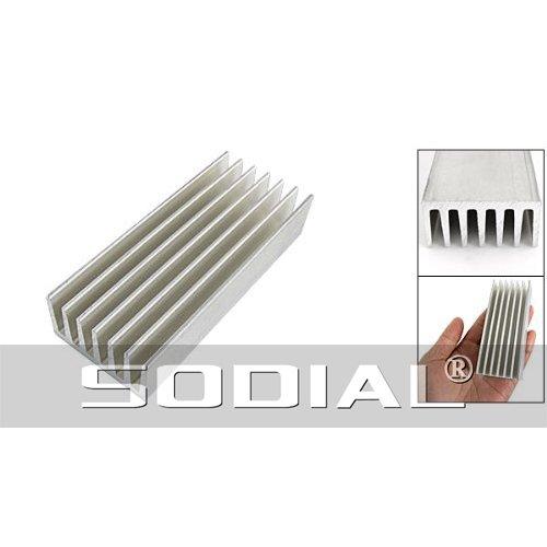 TOOGOO(R) 98 x 40 x 20mm aileron de refroidissement en aluminium Diffusion de chaleur