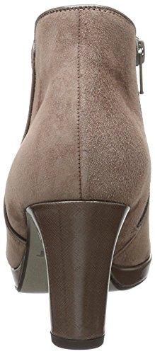 Gabor Shoes 56.670 Damen Kurzschaft Stiefel Grau (Dark-Skin (Ldf.) 42)