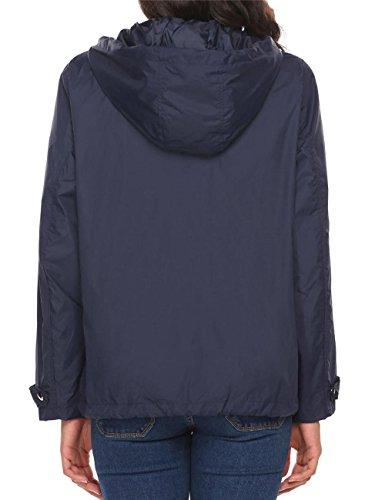 Cindere -  Giacca impermeabile  - Giacca trapuntata - Donna navy-blu