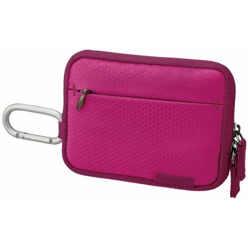 Sony LCSTWHP Gepolsterte leichte Kameratasche für Cyber-shot W- und T-Serie in Pink Sony Cyber-shot H-serie