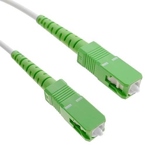 BeMatik FK83-VCES - Cable Fibra óptica SC/APC SC/APC