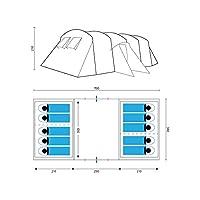 skandika milano family tunnel tent -10 persons