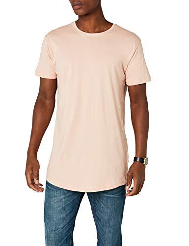 Urban Classics Herren T-Shirt Shaped Long Tee TB638, Rosa (light rose), XS -