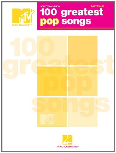 selections-from-mtv-100-greatest-pop-songs-easy-piano