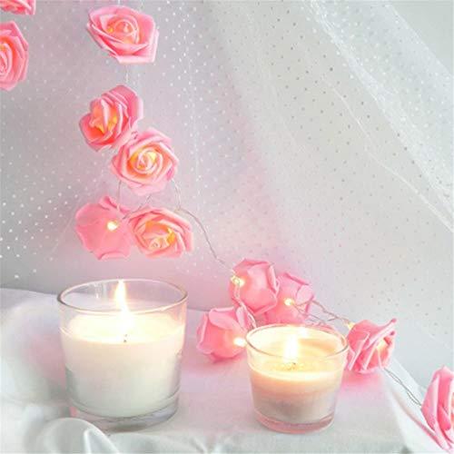guirnalda luces,LED rosas flores,luces cadena para decoración San Valentín bodas comuniones Navidad,...