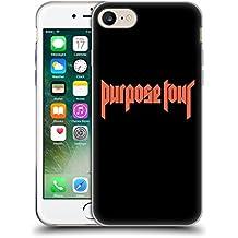 Official Justin Bieber Logo Tour Merchandise Soft Gel Case for Apple iPhone 7