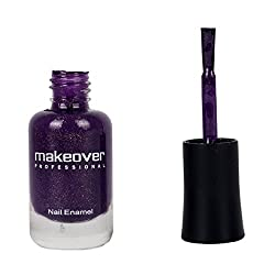 Makeover Premium Nail Enamel Pearly Purple 28 (9ml)