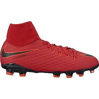 official photos 25e3d 848ff Nike Unisex-Kinder JR Hypervenom Phelon 3 DF FG Fußballschuhe, Universität  Rot/Schwarz