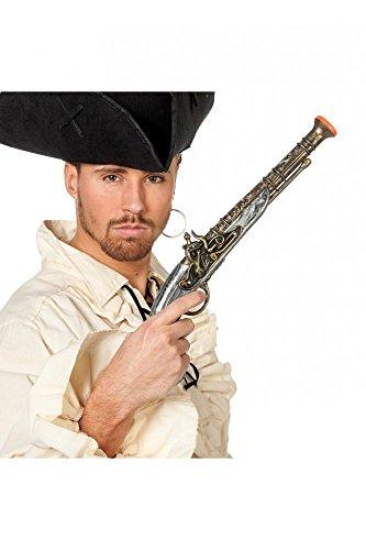 Pistole in Antik-Optik für Piraten-Kostüm Fluch der Karibik Flinte (Film Fluch Kostüme Karibik Der)