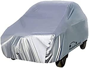 Autofurnish Silver Car Body Cover for Honda Amaze 2018 - Silver