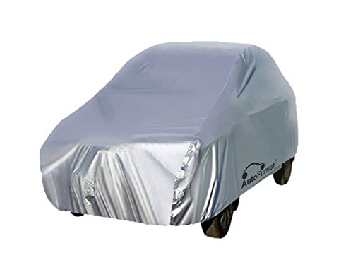 Autofurnish Silver Car Body Cover Compatible with Ford EcoSport - Silver