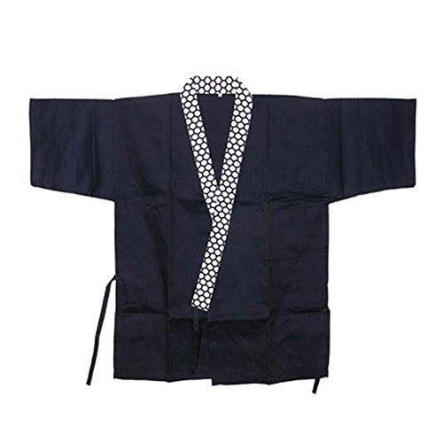 Japanisches Restaurant Sushi Chef Mantel Half Sleeve Work Uniformen Jacke für Unisex, # 05 (Chef Mäntel Von Chef Works)