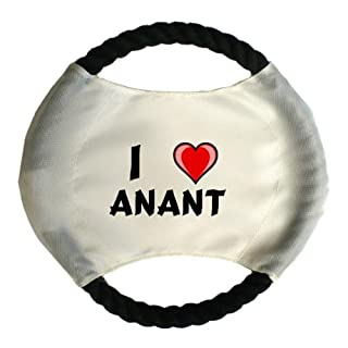 Personalised dog frisbee with name: Anant (first name/surname/nickname)