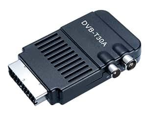 Lexibook DVBTSCART01 Mini adaptateur péritel TNT