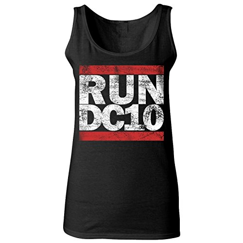 DC10: Run DC10 Canotta Donna Nero