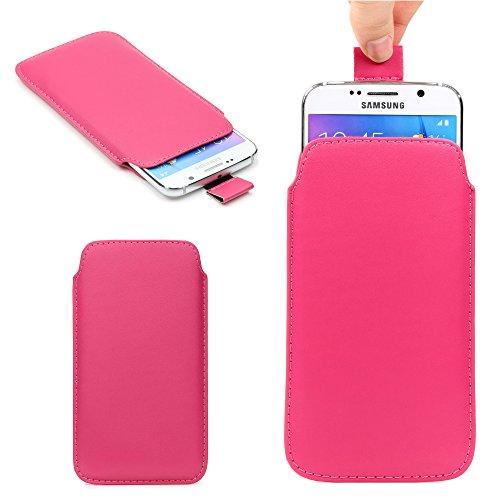 Original Urcover® Universal Schutzhülle [DEUTSCHER FACHHANDEL] Hülle Schale Pull Tab Etui Cover case Galaxy S7 Edge, S6 Edge Plus, iPhone 6 / 6s Plus Pink