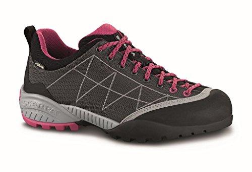 Scarpa Schuhe Zen Lite GTX Women Anthracite/fuxia