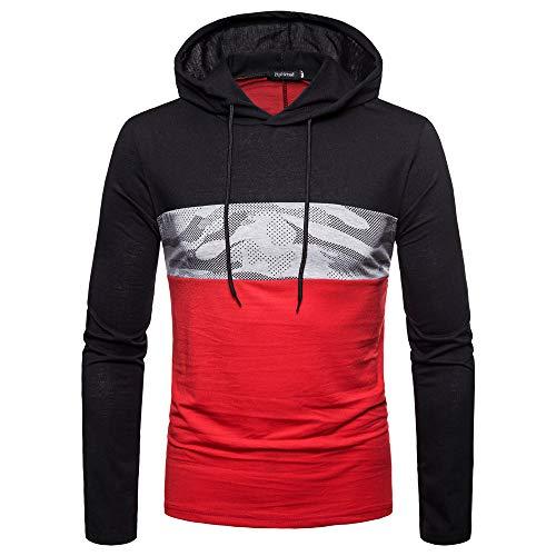 Herren Hoodie,TWBB Camouflage Pullover Kapuzenpullover Oberteile Warm Schlank Sweatshirt Lange Ärmel Shirt