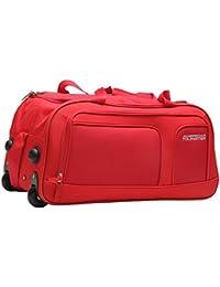 American Tourister Nylon Red Travel Duffle (11W (0) 00 001)