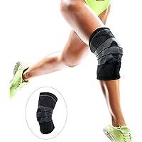 Wokee Kenu Kniebandage,Elastische Neopren Patella Brace Knie Gürtel Unterstützung Fastener verstellbarer Gurt... preisvergleich bei billige-tabletten.eu