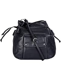 Hawai Elegant Stylish Genuine Leather Women's Cross Body Sling Bag