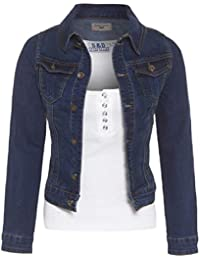 601b6f5c915f Amazon.fr   Veste en jean - 48   Femme   Vêtements