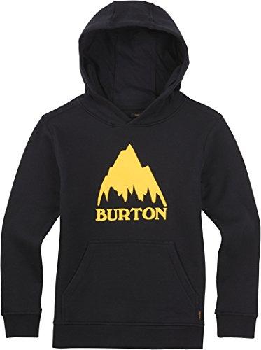 Burton Classic MTN PO, Felpa da ragazzo con cappuccio Nero nero M