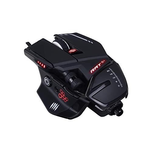 MadCatz R.A.T. 6+ Optical Gaming Mouse, Black (Catz Pc-spiel)
