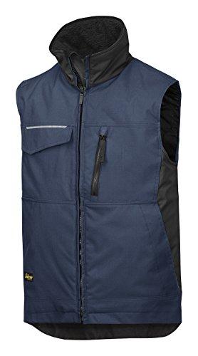 Preisvergleich Produktbild Snickers 4528 Craftsmens Winter Vest Navy Black XL