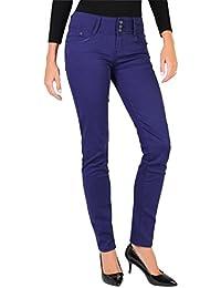 991d7db4cf4da jeans femme violet