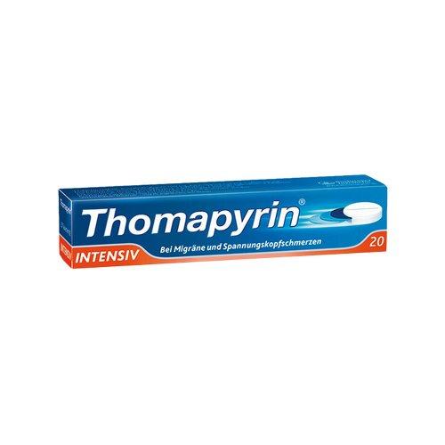 THOMAPYRIN INTENSIV Tabletten 20 St Tabletten