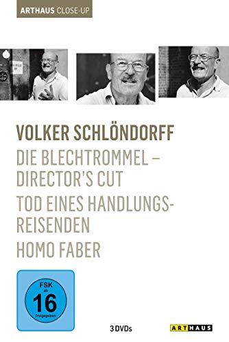 Volker Schlöndorff - Arthaus Close-Up ( Die Blechtrommel - Director's Cut / Homo Faber / Tod eines Handlungsreisenden ) [3 DVDs]