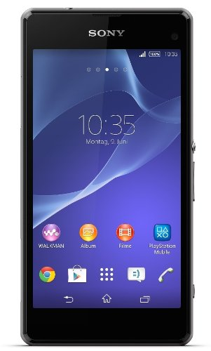 Sony Xperia Z1 Compact Smartphone (4,3 Zoll (10,9 cm) Touch-Display, 16 GB Speicher, Android 4.3) schwarz (I Handy Phone Unlocked)