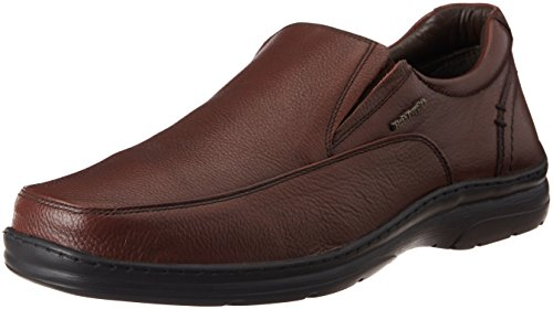 Hush Puppies Men's Taylor Slip On Brown Leather Formal Shoes - 7 UK/India (41 EU)(8544866)