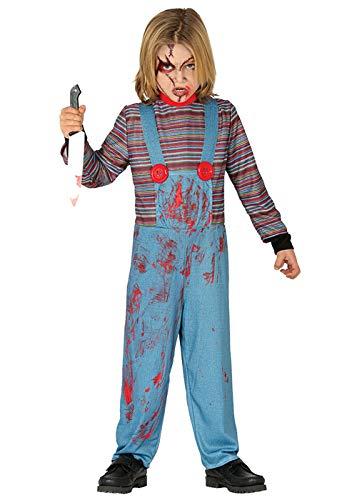 Magic Box Int. Halloween Böse Puppe Kostüm in Kindergröße Small 3-4 Years