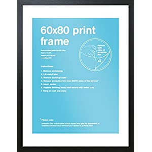 GB Eye Bilderrahmen, 60 x 80 cm, schwarz