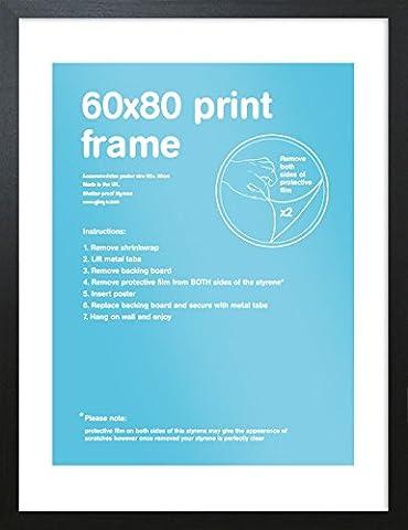 Cadre 60x90 - GB Eye Cadre pour affiche Noir 60