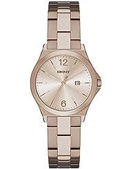 DKNY Damen-Armbanduhr Digital Quarz Edelstahl NY2368