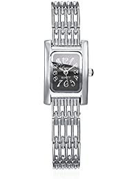 naivo Quartz Stainless Steel and Gold Plated Watch, Color:Silver-Toned (Model: 1)