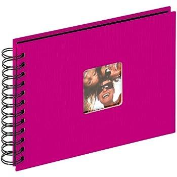 walther SA-109-Q album spirale Fun pink, 23x17 cm