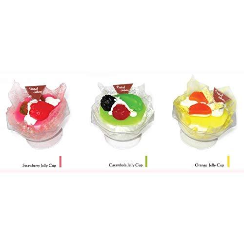 Eis Seife in Form eines Eiswürfels 115 g (Unitärer Preis) Kuchen Cupcake - Originalseife für Detalles, Verkäufe und Gastgeschenke -